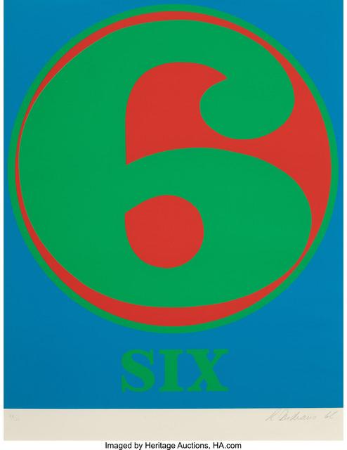 Robert Indiana, 'Six', 1968, Heritage Auctions