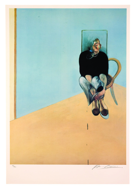 Francis Bacon, 'Study for Self Portrait, 1982', 1984, Atrium Gallery