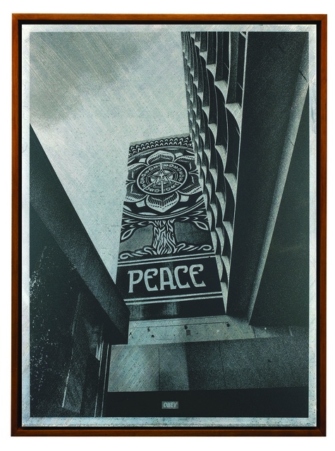 Shepard Fairey (OBEY), 'Covert to Overt: Peace Tree', 2015, Underdogs Gallery