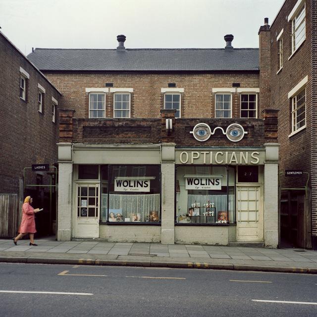 , 'Opticians, London, 1975,' 2017, Galerie Clémentine de la Féronnière