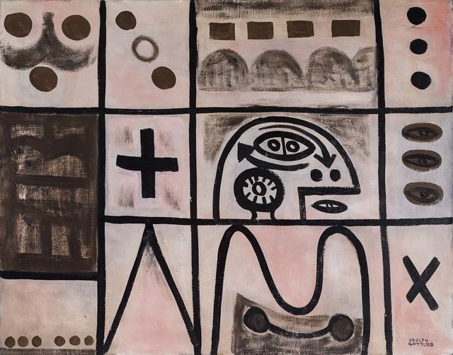 , 'Three Eyes,' 1950, Michael Rosenfeld Gallery