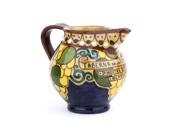 Little jug with ornamental motifs
