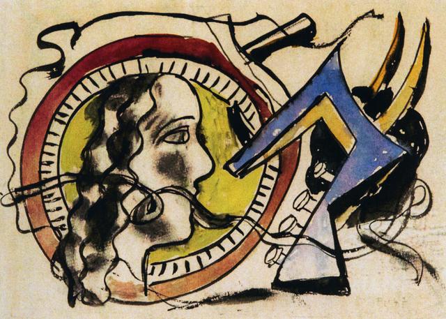, 'Jazz + Joueur de contrebasse et scene de cirque,' 1947, Chowaiki & Co.
