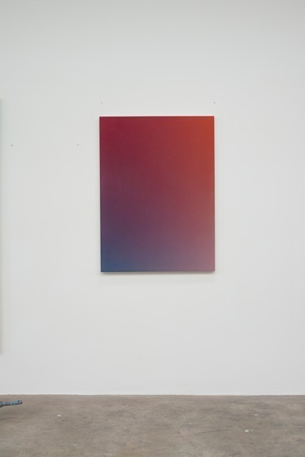 , 'Fade XII (Orange Red Cerulean),' 2014, Vigo Gallery