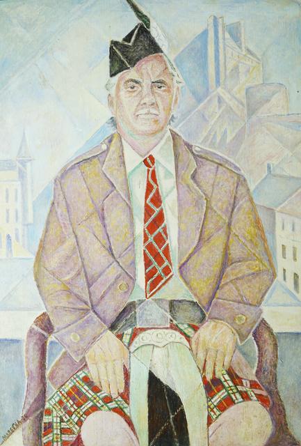 Marie Vorobieff Marevna, 'Portrait of a the Scotsman', 1974, Roseberys