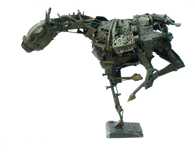 Alaa Abou SHAHEEN, 'Military Decision', 2015, Sculpture, Iron, al markhiya gallery