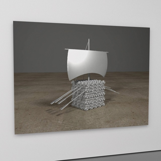 , 'LM (lunar module),' 2017, MARQUEE PROJECTS