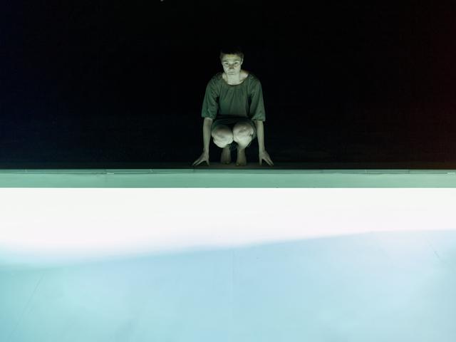 , 'Pool Night,' 2011, Galleria Heino