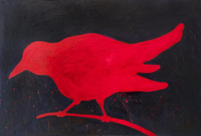 , 'Red Bird,' 2012, iPreciation