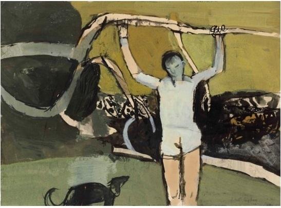 , 'Trees III,' 1950, Osborne Samuel