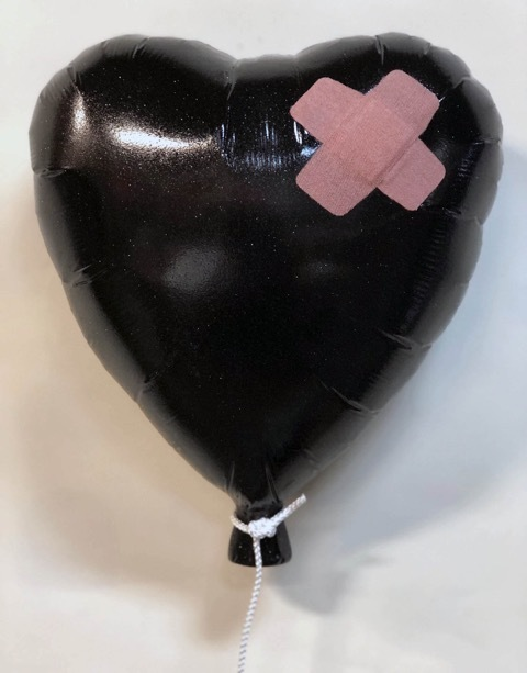 , 'Band-Aid Heart Balloon,' 2019, Bruce Lurie Gallery