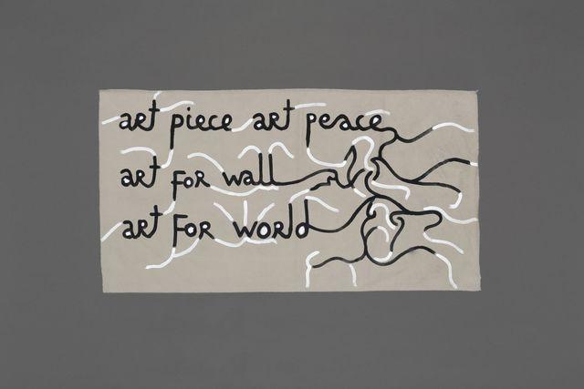 , 'Art piece art peace,' 2015, Jérôme Poggi