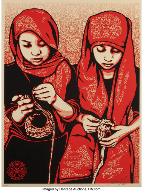 Shepard Fairey (OBEY), 'Close Knit', 2009, Heritage Auctions