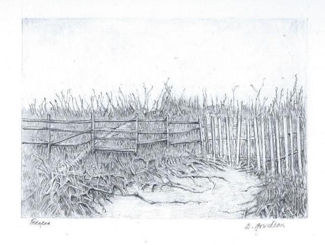 , 'Fences,' 2019, The Galleries at Salmagundi