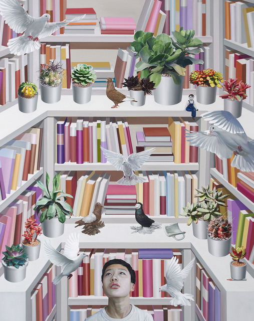 , 'Library - Paradise,' 2016, Parkview Green Art