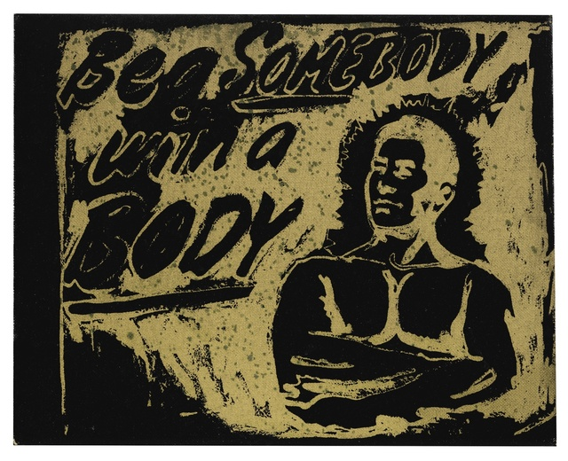 Andy Warhol, 'Be a Somebody with a Body', 1985, Sotheby's