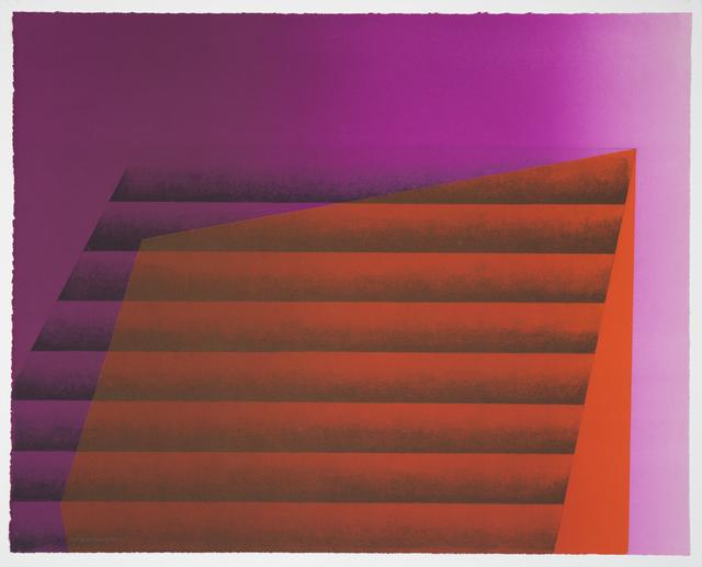 , 'Sideways 9,' 2016, Manneken Press