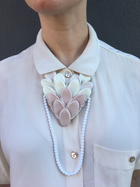 Mia Kwon, 'Spring on Skin, Necklace', 2015, The Gallery at Reinstein|Ross