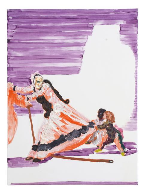 """, '""""La Beata"""" und... / nach Goya,' 2009, Flowers"""