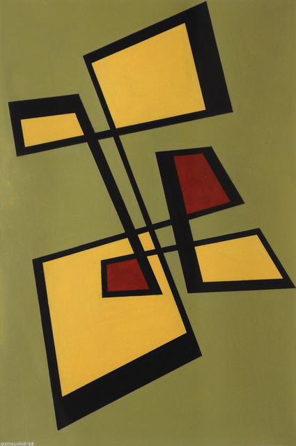 , 'Untitled Composition,' 1958, Cecilia de Torres, Ltd.