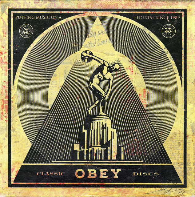 Shepard Fairey (OBEY), 'Classic Discs', 2013, Underdogs Gallery