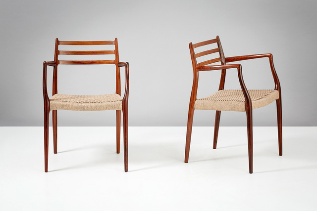 Rørig Niels O. Møller | Pair of Model 62 Armchairs (1962) | Available JQ-27