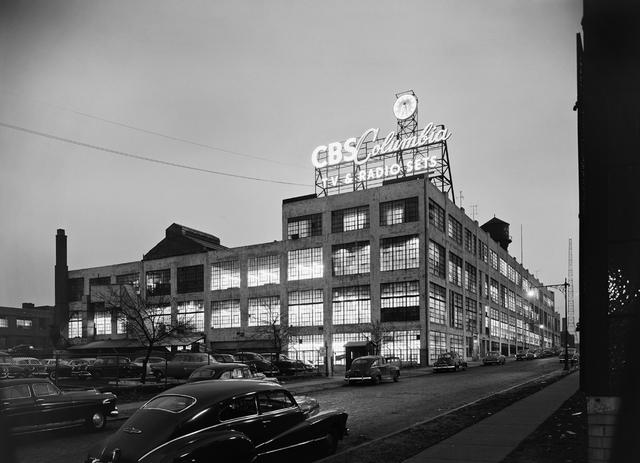 , 'CBS Columbia, Long Island City, NY,' 1954, Yossi Milo Gallery