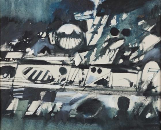 , 'Suspension 3,' 1967, AbExArt