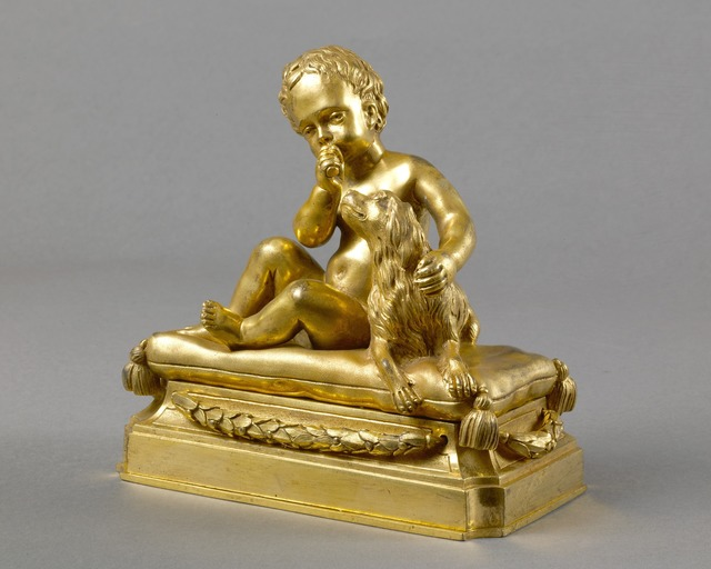 , 'A beautiful pair of Louis XVI chased and giltbronze paper-weights,' ca. 1765, Kraemer Gallery - Paris