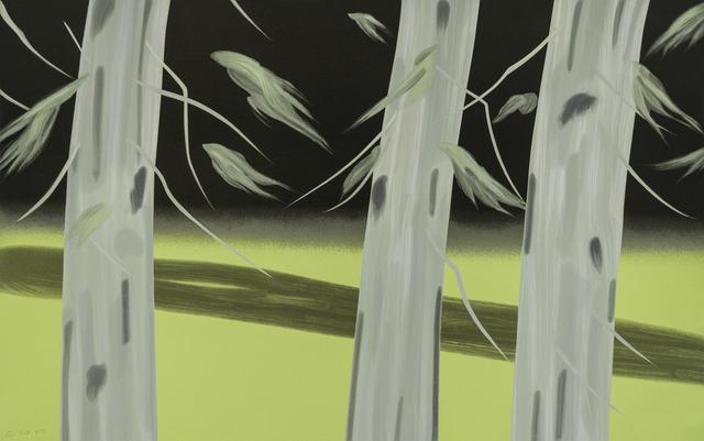 Alex Katz, 'Three Trees', 2018, William Campbell Contemporary Art, Inc.