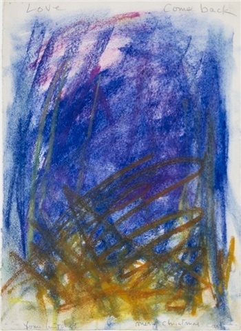 Joan Mitchell, 'Untitled (Love come back)', ca. 1977, Helwaser Gallery