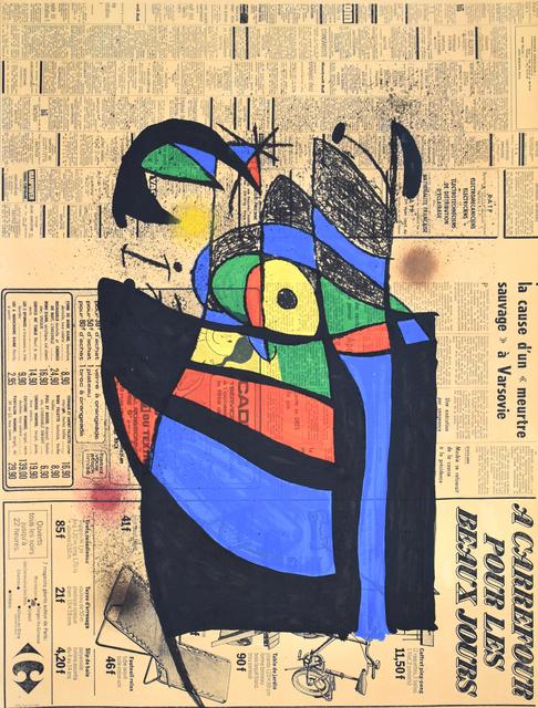 Joan Miró, 'The Newspaper | Le Journal', 1972, Gilden's Art Gallery