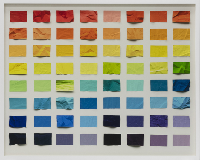 , 'Untitled (Crumped chromatic scale),' 2017, galerie nichido / nca | nichido contemporary art