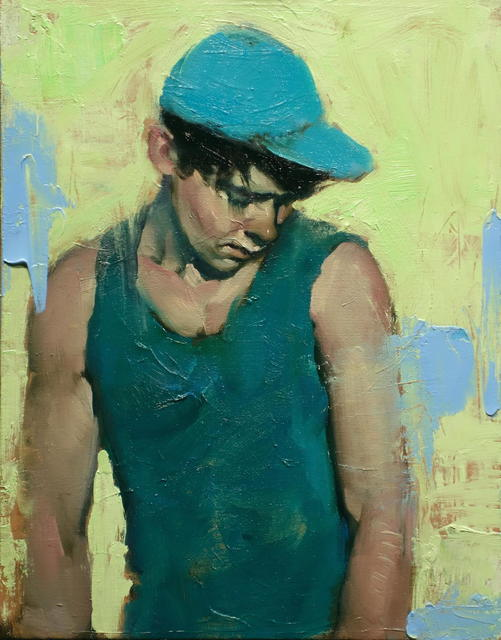 , 'Blue Hat,' 2017, Shine Artists | Pontone Gallery