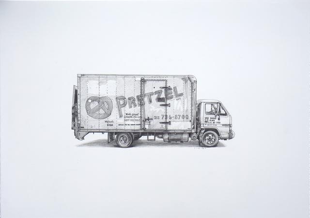 , 'Pretzel,' 2017, Jonathan LeVine Projects