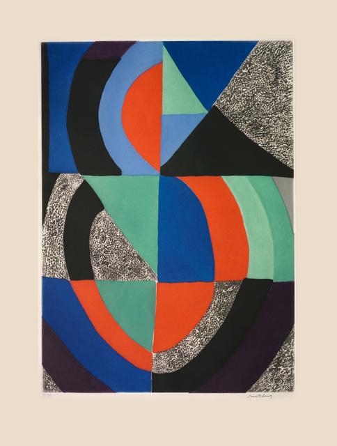 Sonia Delaunay, 'Composition ', ca. 1970, Nikola Rukaj Gallery