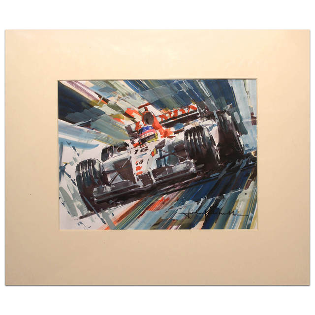 John Ketchell, 'Jacques Villeneuve', 2008-2016, Whyte Fine Art