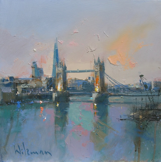 , 'Tower Bridge and the Shard,' , Thompson's Galleries