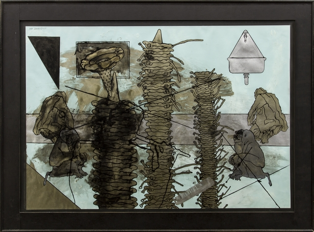 , 'Der Querflötist,' , Galerie Elisabeth & Klaus Thoman