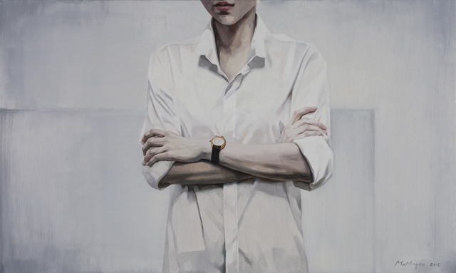 Mingze Ma, 'The Watch Isn't a Timepiece', 2015, Painting, Oil on Canvas, Parkview Green Art