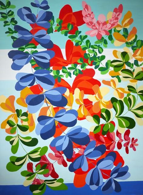 Barbara Owen, 'Co-Mingle', 2011, Painting, Oil on Canvas, Coastal Contemporary