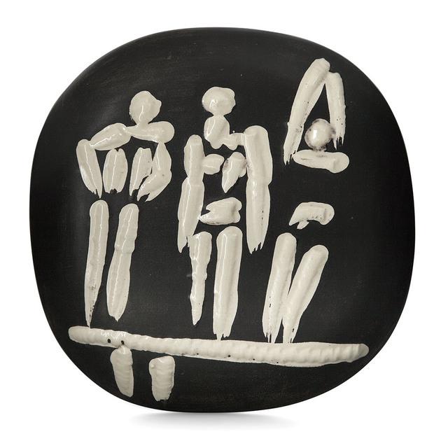 Pablo Picasso, 'Trois Personnages Sur Tremplin (A.R. 374)', 1956, Doyle