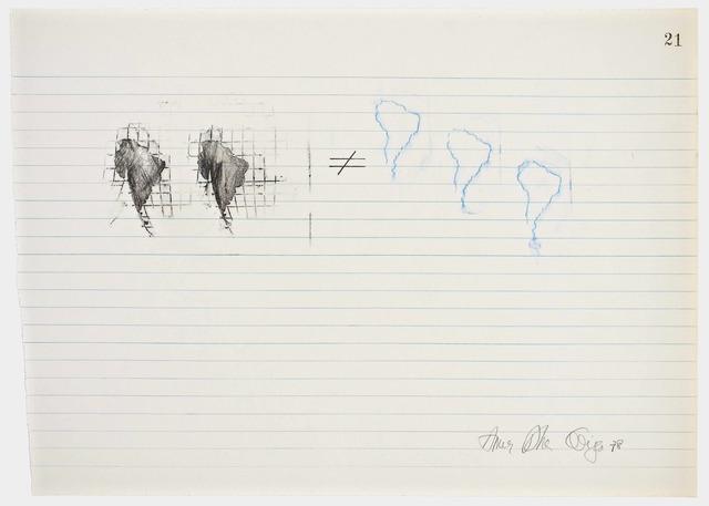 , 'Equations No 21,' 1978, Henrique Faria Fine Art
