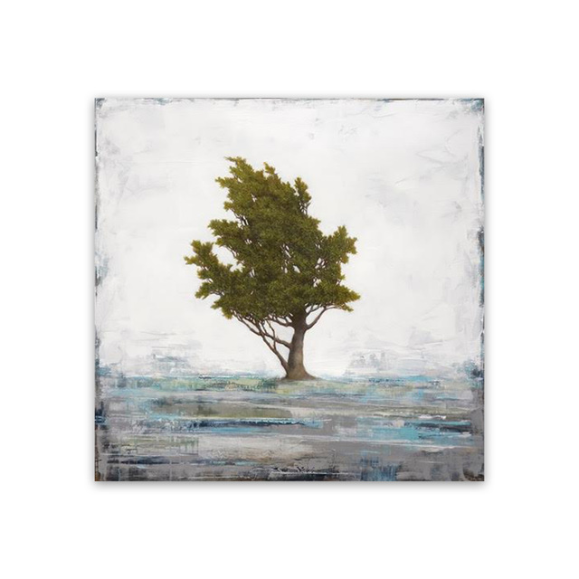 , 'Winter Pine,' , Exhibit by Aberson