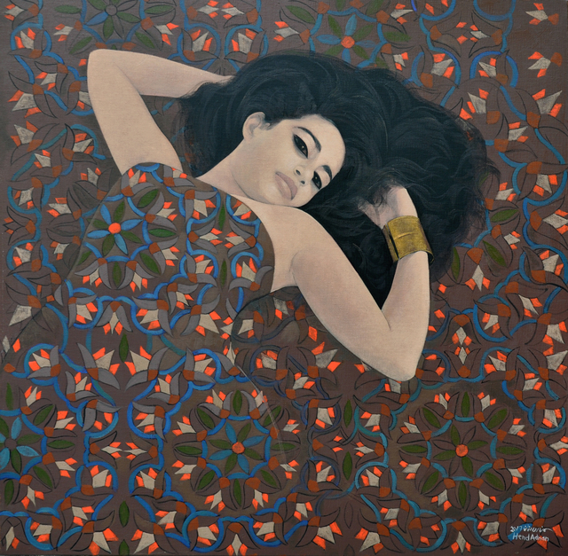 , 'Lotus 1,' 2017, al markhiya gallery
