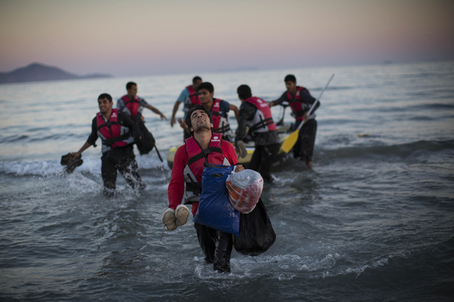, 'Migrants Arrive in Greece,' 2015, Getty Images Gallery
