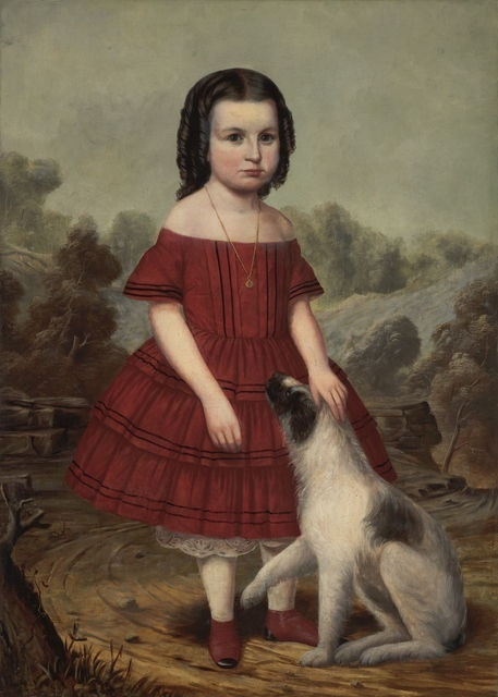 John Jacob Hegler, 'Portrait of Alice Lyons', ca. 1855, Indianapolis Museum of Art at Newfields
