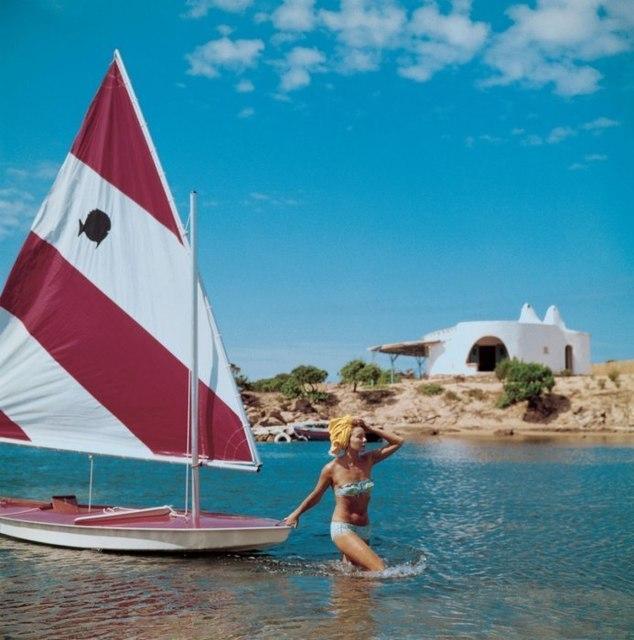, 'Sailing in Sardina,' 1964, IFAC Arts