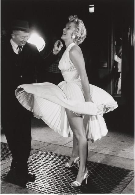 George Zimbel, 'Marilyn Monroe and Billy Wilder, N.Y.C.', 1954, Heritage Auctions