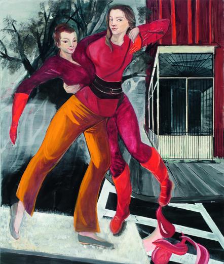 Rosa Loy, Die andere Seite, 2009, courtesy Galerie Kleindienst, Leipzig; Kohn Gallery, Los Angeles; Galerie Baton, Seoul. Foto: Uwe Walter, Berlin.